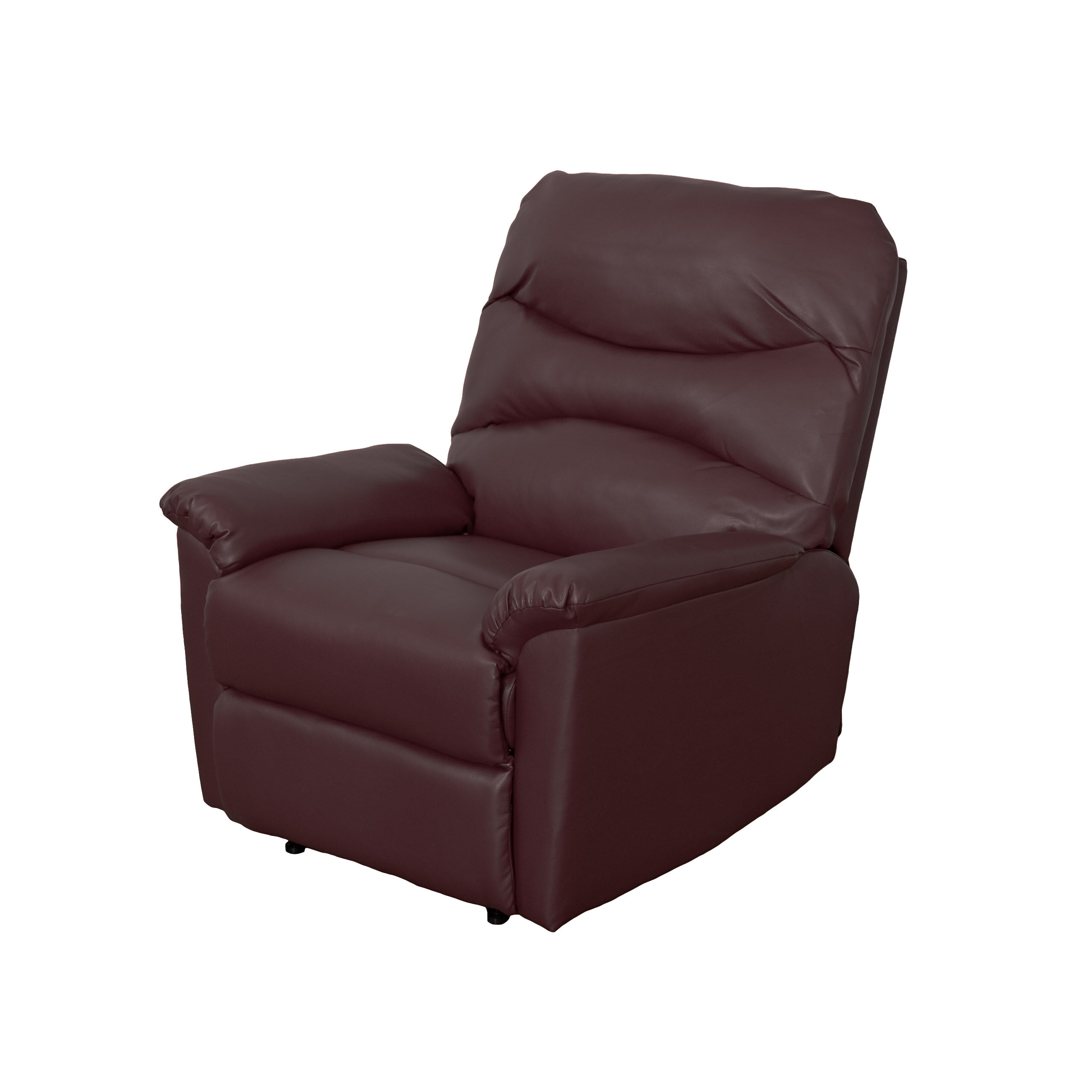 Red Barrel Studio Sexton Faux Leather Manual Recliner With Massage Reviews Wayfair