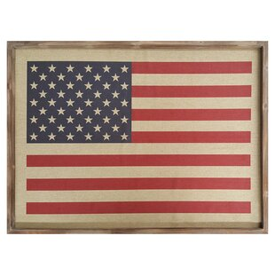 9400c43c9450  American Flag  Framed Graphic Art