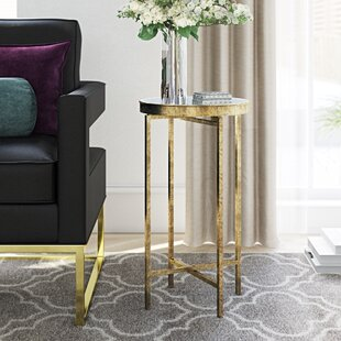 Bargain Millet Round Metal End Table By House of Hampton
