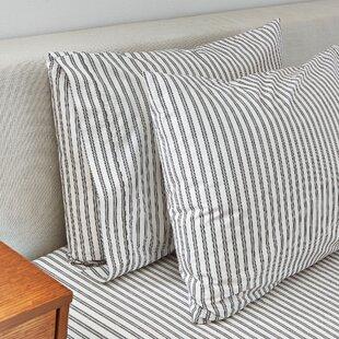 Ticking Stripe 350 Thread Count Pillowcase Set