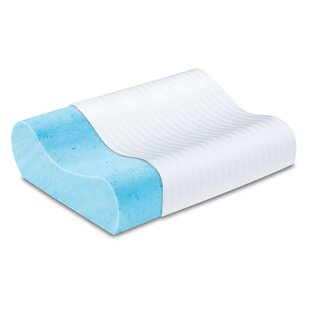 Gel Memory Foam Contour Pillow by Luxury Solutions