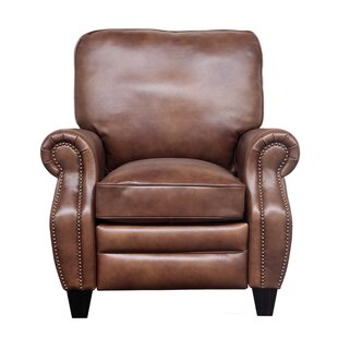Loar Leather Manual Recliner by DarHome Co