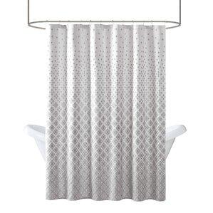 Gray Silver Shower Curtains You Ll Love Wayfair