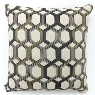 Rhein Hexagon Print Throw Pillow (Set of 2)