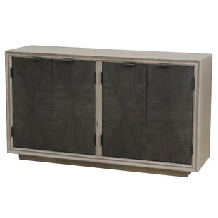 Hoover Four Door Duotone Parquet Sideboard