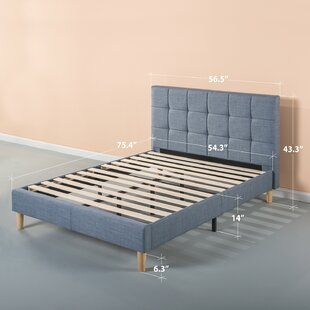 Dimattia Upholstered Platform Bed by Corrigan Studio