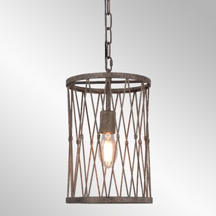 Williston Forge Mechling 1-Light Drum Pendant