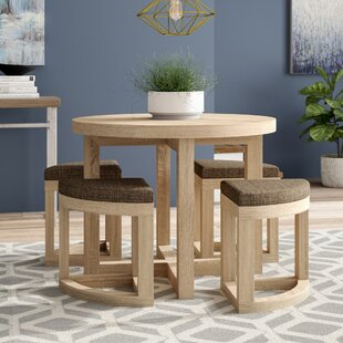 Review Griffith Dining Set With 4 Chairs