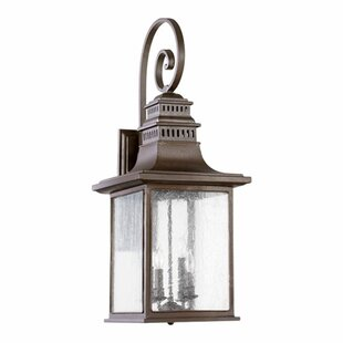Brittany 4-Light Outdoor Wall Lantern By Alcott Hill Outdoor Lighting