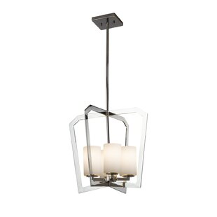 Brayden Studio Luzerne 4-Light Intersecting Foyer Pendant