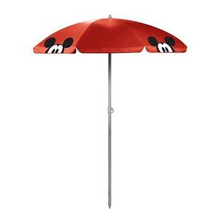 Mickey Mouse 5.5' Portable Beach Umbrella