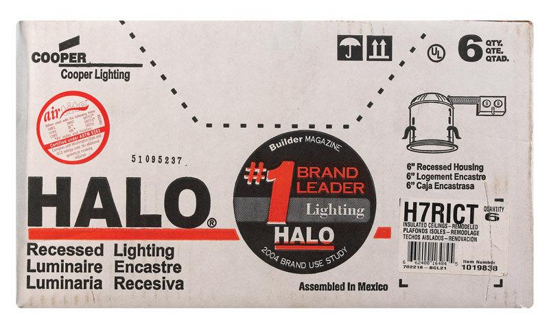 Halo Recessed Housing