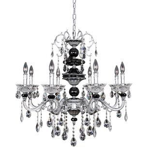 Allegri by Kalco Lighting Faure 8-Light Candle Style Chandelier
