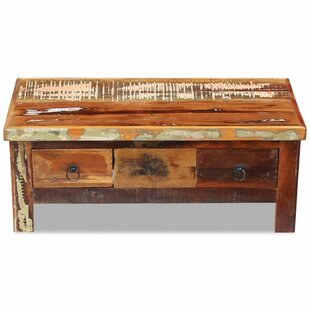 Chilmark Solid Reclaimed Wood Coffee Table With Storage By Williston Forge