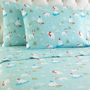 Rocket Flannel Sheet Set