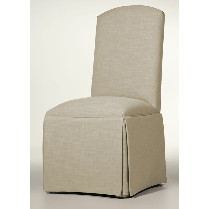 Awesome Lamoille Traditional Skirted Upholstered Dining Chair Squirreltailoven Fun Painted Chair Ideas Images Squirreltailovenorg
