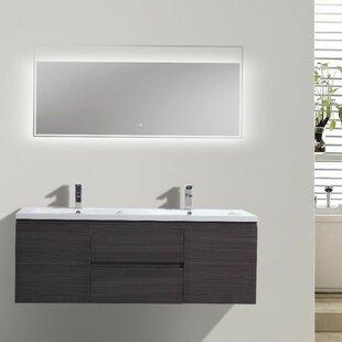 Lina 59 Double Bathroom Vanity Set