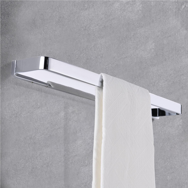 Latitude Run Allistor Lavatory Toilet 20 Wall Mounted Towel Bar Wayfair