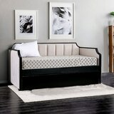 Steck Twin Daybed with Trundle by Rosdorf Park