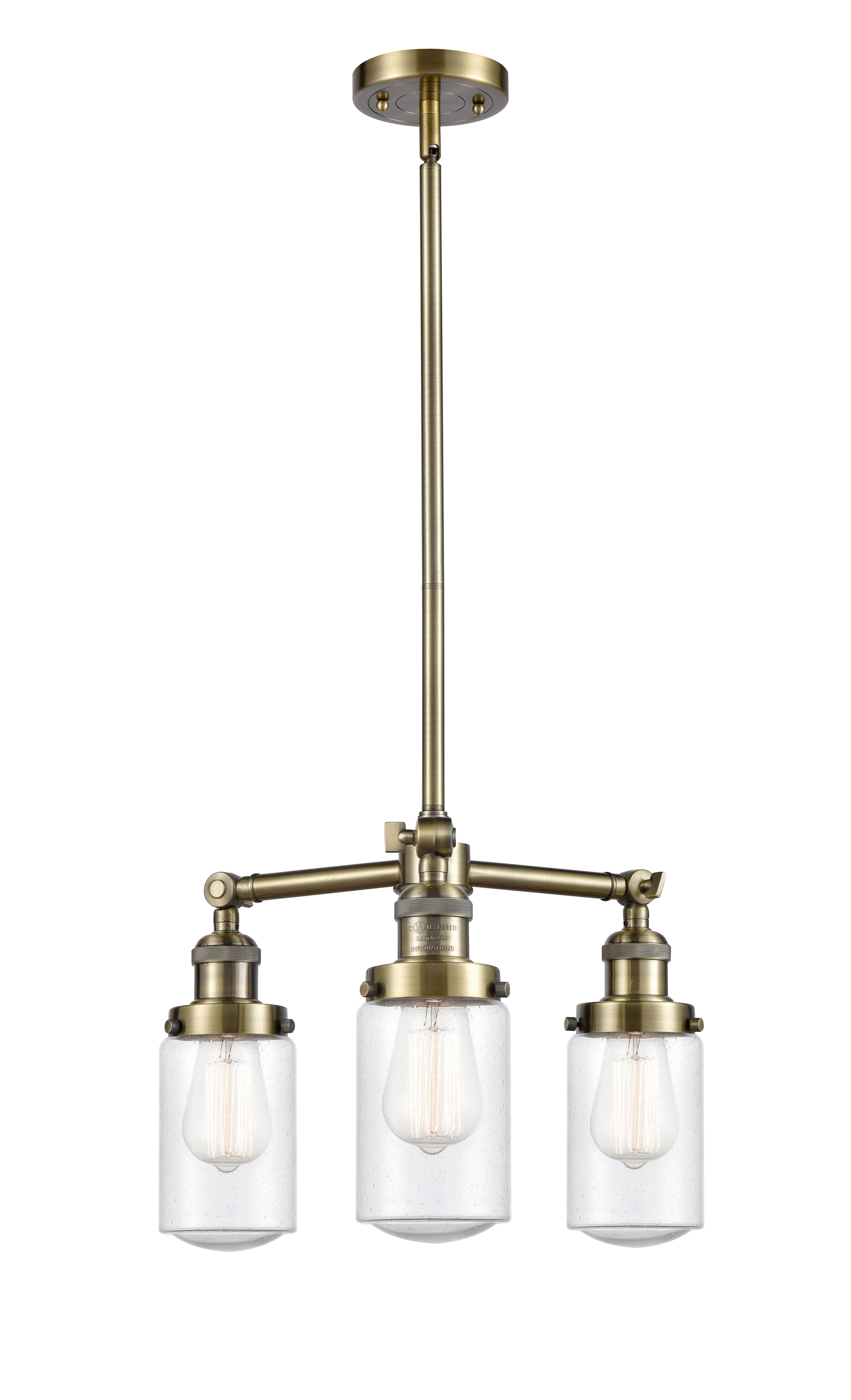 Breakwater Bay Saroyan 3 Light Candle Style Globe Chandelier Wayfair