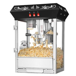 8 Oz. Movie Night Countertop Popcorn Popper Machine