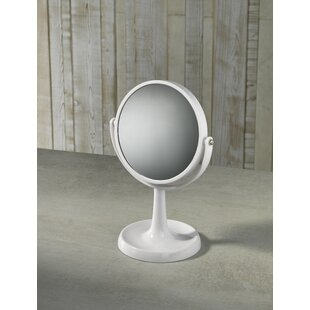 Extra Round Dressing Table Mirror By Mercury Row
