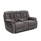 Aonesty Reclining 78 Pillow Top Arm Loveseat by Red Barrel Studio®