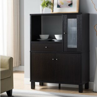 Cecere Microwave with Spacious Storage China Cabinet by Winston Porter