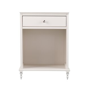 Norita 1 Drawer Nightstand by House of Hampton Top Reviews