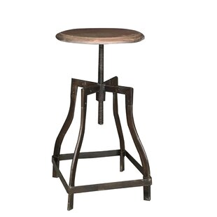 Bella Height Adjustable Swivel Bar Stool By Williston Forge