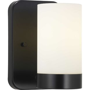 Aeroome 1-Light Bath Sconce by Wrought Studio