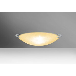 Sonya LED Outdoor Flush Mount by Besa Lighting