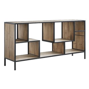Jaramillo Angled Metal and Wood Console Table