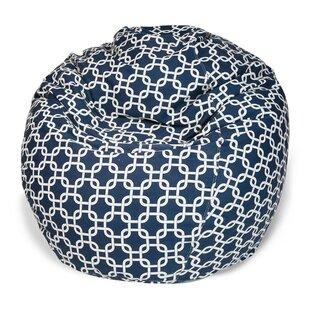 Banas Geometric Bean Bag Chair By Wade Logan