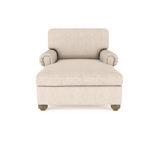 Canora Grey Austin Velvet Chaise Lounge