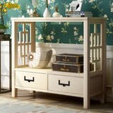 Nivens 13'' Solid Wood Console Table by Breakwater Bay