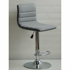 Polaris Adjustable Height Swivel Bar Stool