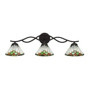 Millwood Pines Steinway 3-Light Vanity Light