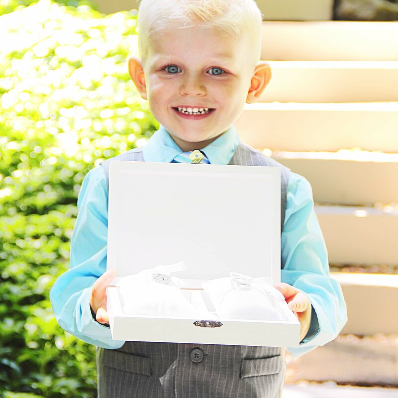 Cathys Concepts Love Wedding Ring Bearer Box Reviews Wayfair
