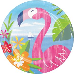 Lush Luau Paper Disposable Dessert Plate (Set of 24)