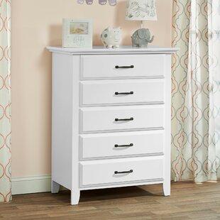 Scottie 5 Drawer Dresser Chest by Harriet Bee