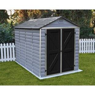 Palram SkyLight™ 6 ft. 1 in. W x 10 ft. D Polycarbonate Storage Shed