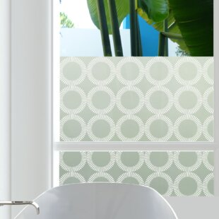 Radial Privacy Window Film by Stick Pretty