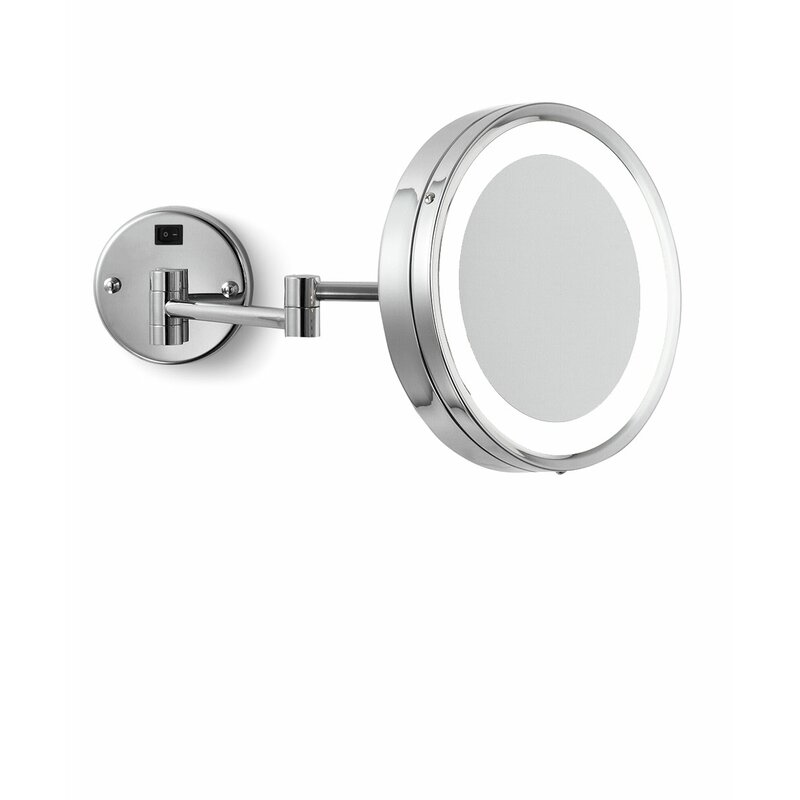 Electric Mirror Blush Wall Mounted Lighted Makeup Mirror Perigold