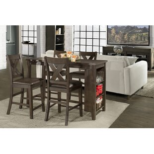 Balmoral Spencer 5 Piece Counter Height Dining Set by Gracie Oaks