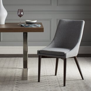 Wade Logan Bergevin Upholstered Dining Chair (Set of 2)
