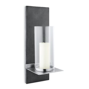 Finca Wall Mounted Stainless Steel Sconce