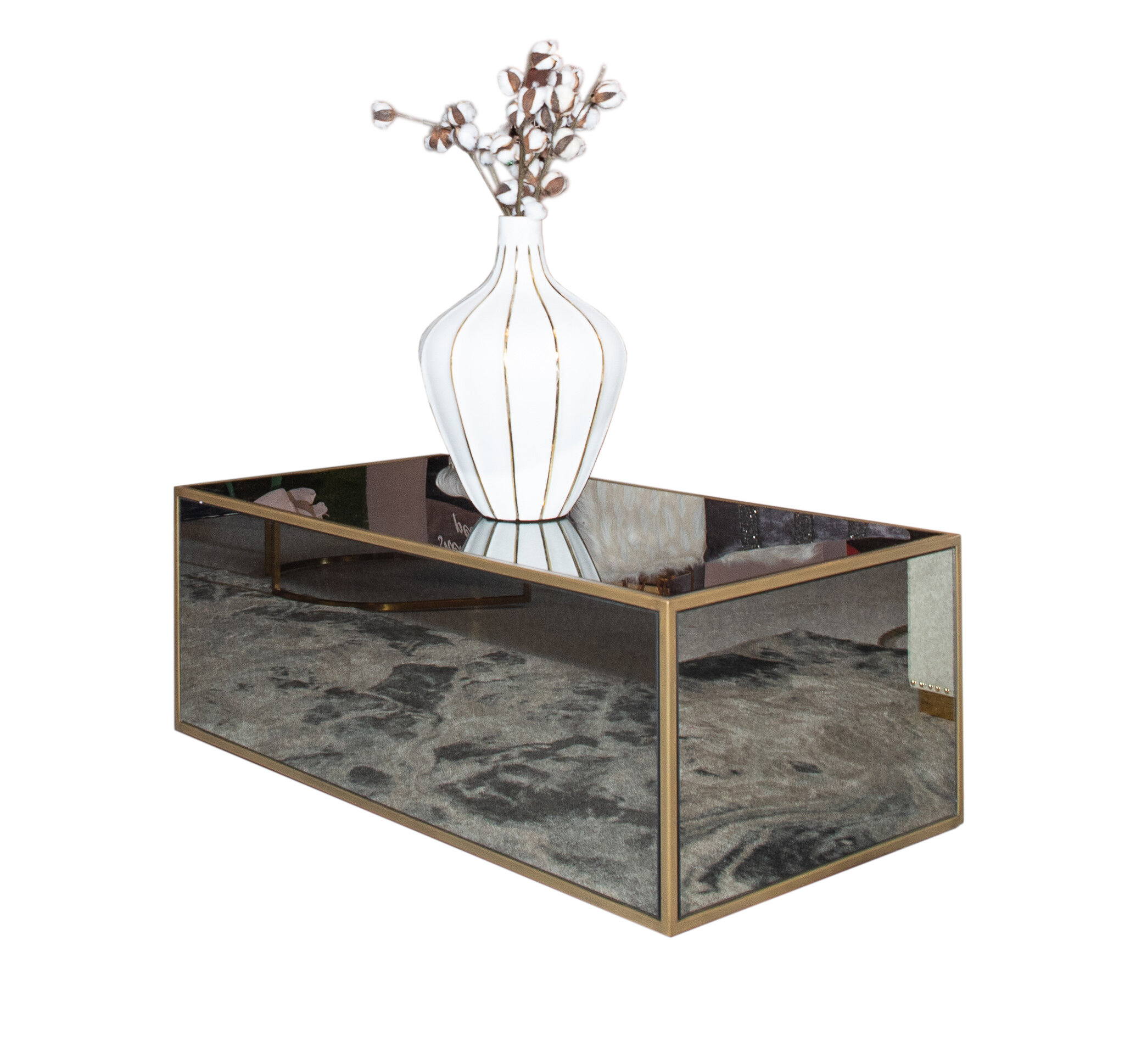 Inspiremehomedecor Lana Mirrored Coffee Table Reviews