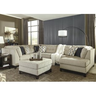 Tindell Modular Sectional with Ottoman