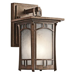 Millwood Pines Forster 1-Light Outdoor Wall Lantern